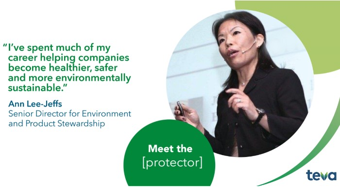 I've spent much of my career helping companies become healthier, safer and more environmentally sustainable